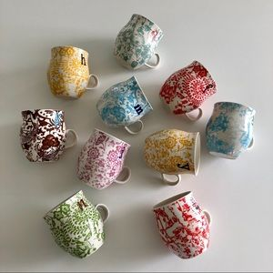 Antropologie initial cups
